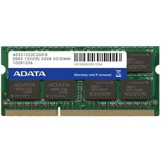 4GB ADATA AD3S1333C4G9-S DDR3-1333 SO-DIMM CL9 Single