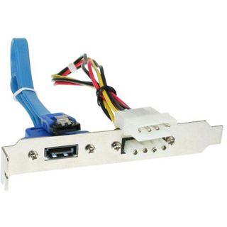 InLine SATA Slotblech für Mainboards (33207B)