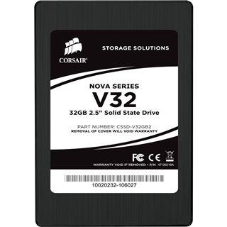 "32GB Corsair Nova Series 2.5"" (6.4cm) SATA 3Gb/s MLC asynchron"