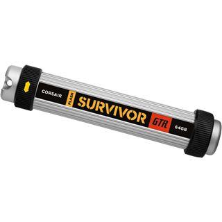 64 GB Corsair Flash Survivor silber USB 2.0