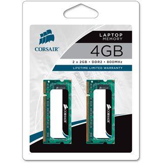 4GB Corsair ValueSelect DDR2-800 SO-DIMM CL5 Dual Kit