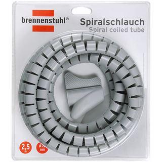 (€3,56*/1m) Brennenstuhl 2.50m Spiralschlauch 20mm Grau