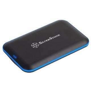 """Silverstone TS04 2.5"""" (6,35cm) USB 3.0 schwarz"""
