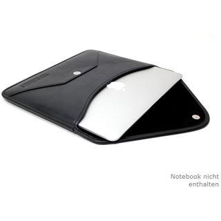 """CoolBananas Envelope V1 Leder - Tasche MB Air (11"""") Schwarz"""