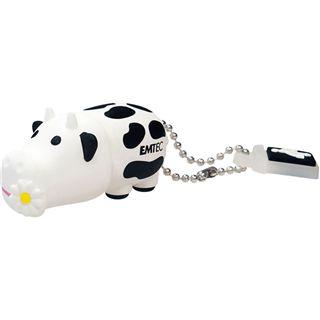 4 GB EMTEC M318 Cow schwarz/weiss USB 2.0