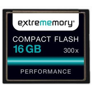 16 GB Extrememory Performance Compact Flash TypI 300x Bulk