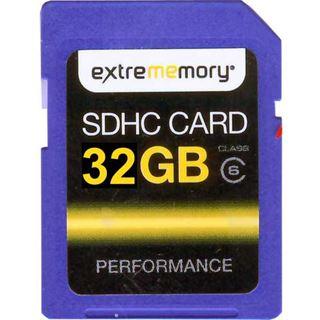 32 GB Extrememory Performance SDHC Class 6 Bulk