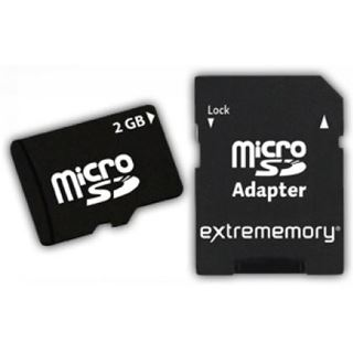 2 GB Extrememory Standard microSD Class 2 Retail