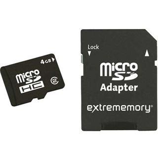8 GB Extrememory Standard microSDHC Class 2 Retail