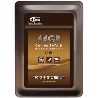 "64GB TeamGroup SSD 2.5"" (6.4cm) SATA 3Gb/s MLC asynchron"