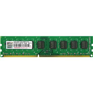 2GB Transcend Value DDR3-1333 DIMM CL9 Single