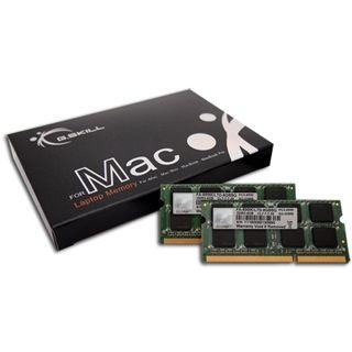 4GB G.Skill SQ Series DDR3-1066 SO-DIMM CL7 Dual Kit