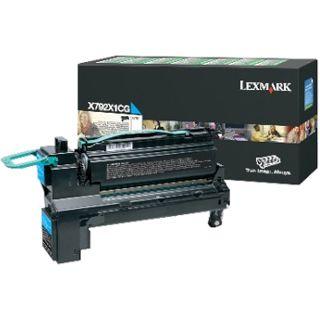 Lexmark Toner cyan Rück X792