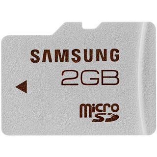 2 GB Samsung Standard microSDHC Class 4 Bulk inkl. Adapter