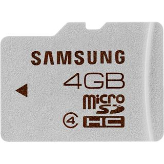 4 GB Samsung Standard microSDHC Class 4 Retail