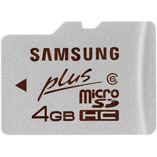 4 GB Samsung Plus microSDHC Class 6 Retail