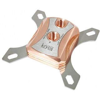 Aqua Computer Cuplex Kryos Intel Edelstahl / Kupfer CPU Kühler