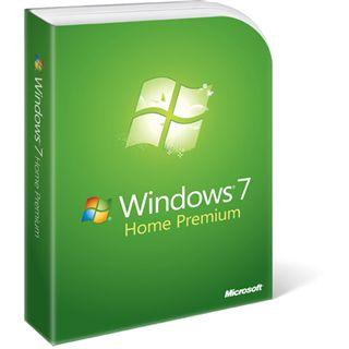 Microsoft Windows 7 Home Premium inkl. SP1 64 Bit Deutsch OEM/SB