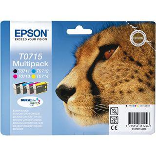 Epson C13T07154060 Multi Pack 4 Farben + Papier
