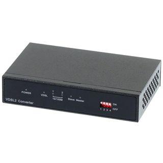 Longshine LCS-VE684 Ethernet zu VDSL2 Konverter, Master oder Slave