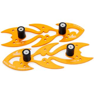 The Feser Company Silent Arrow Noise Absorber orange Entkoppler