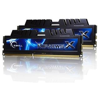 4GB G.Skill RipJawsX DDR3-1600 DIMM CL6 Dual Kit