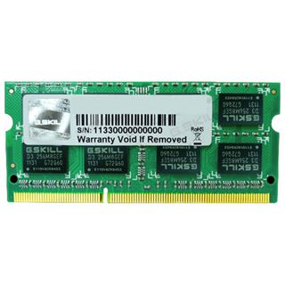 4GB G.Skill SQ Series DDR3-1066 SO-DIMM CL7 Single
