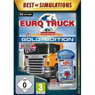 Rondomedia Best of Simulations: Euro Truck-Simulator Gold-Ed. (PC)