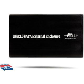 "WinTech EX-MOB-8 2.5"" (6,35cm) USB 3.0 schwarz"