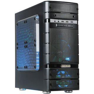 IN WIN BR665 Mini Tower ohne Netzteil schwarz