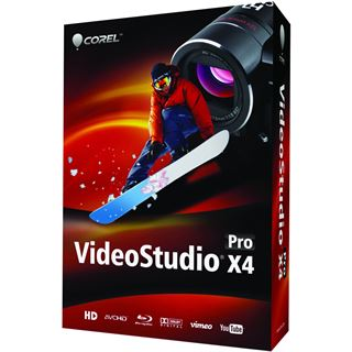 Corel VIDEOSTUDIO PRO X4 MINI BOX UK
