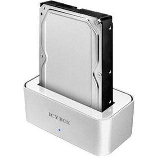 """ICY BOX IB-111StUS2-Wh SATA Dockingstation für 2.5"""" und"""