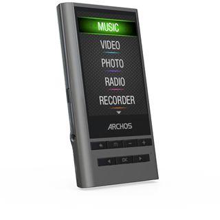 """2,4"""" (6,09cm) 8GB Archos 24Y Vision Media Player Yamaha DSP"""