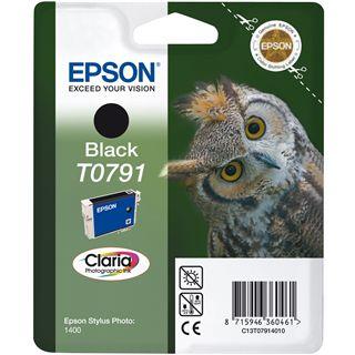 Epson T0791 Tintenpatrone schwarz Standardkapazität 11ml