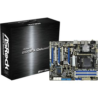 ASRock 890FX Deluxe5 AMD 890FX So.AM3 Dual Channel DDR3 ATX Retail