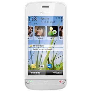 Nokia C5-03 weiß/silber