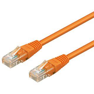 0.30m Good Connections Cat. 5e Patchkabel UTP RJ45 Stecker auf RJ45 Stecker Orange