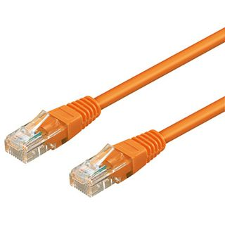 7.00m Good Connections Cat. 6 Patchkabel UTP RJ45 Stecker auf RJ45 Stecker Orange