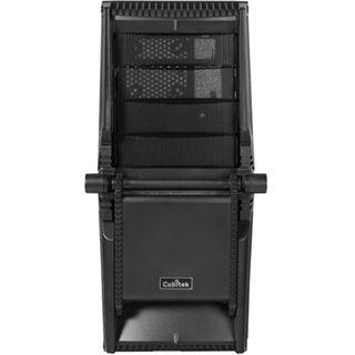 Cubitek M4 Silencer gedaemmt Midi Tower ohne Netzteil schwarz