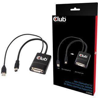 Club3D Mini DisplayPort to Active DVI Dual Link 330Mhz