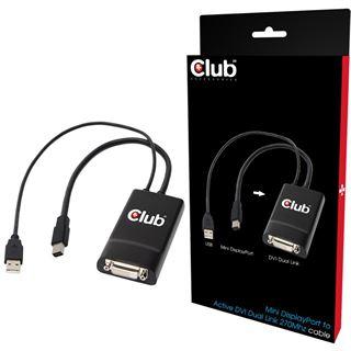 Club 3D Adapter aktiv für Mini Displayport zu DVI (CAC-1150)