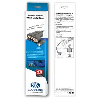 Sapphire aktiver Mini Displayport Adapter für DVI-D (44000-03-40G)