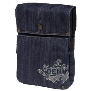 Golla Laptop G Bag DENIM - WORDUP - dunkelblau