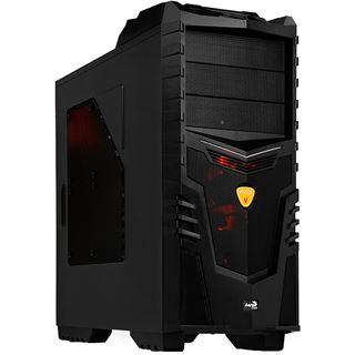 AeroCool X-Warrior Devil Red Edition Midi Tower ohne Netzteil