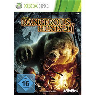 Activision CABELAS DANGEROUS HUNTS 2011 (XBox360)