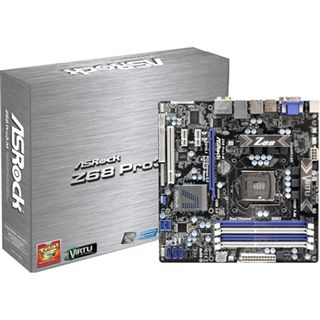 ASRock Z68 Pro3-M Intel Z68 So.1155 Dual Channel DDR3 mATX Retail