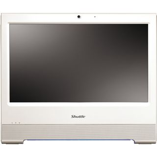 "15,6"" (39,62cm) Shuttle X5020TA Plus weiss Touch All-in-One PC"