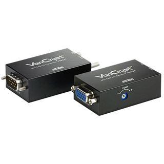 ATEN Technology VE022 1-fach VGA-A/V-Extender über LAN