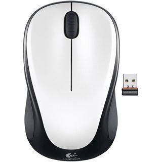 Logitech M235 Wireless Optische USB Maus Ivory white