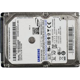 "500GB Samsung Spinpoint M8 HN-M500MBB. 8MB 2.5"" (6.4cm) SATA"